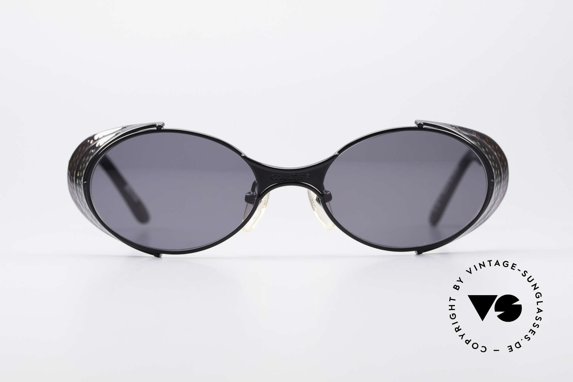 Jean Paul Gaultier 56-7109 JPG Steampunk Sunglasses, 'STEAMPUNK' shades' by the eccentric French designer, Made for Men and Women
