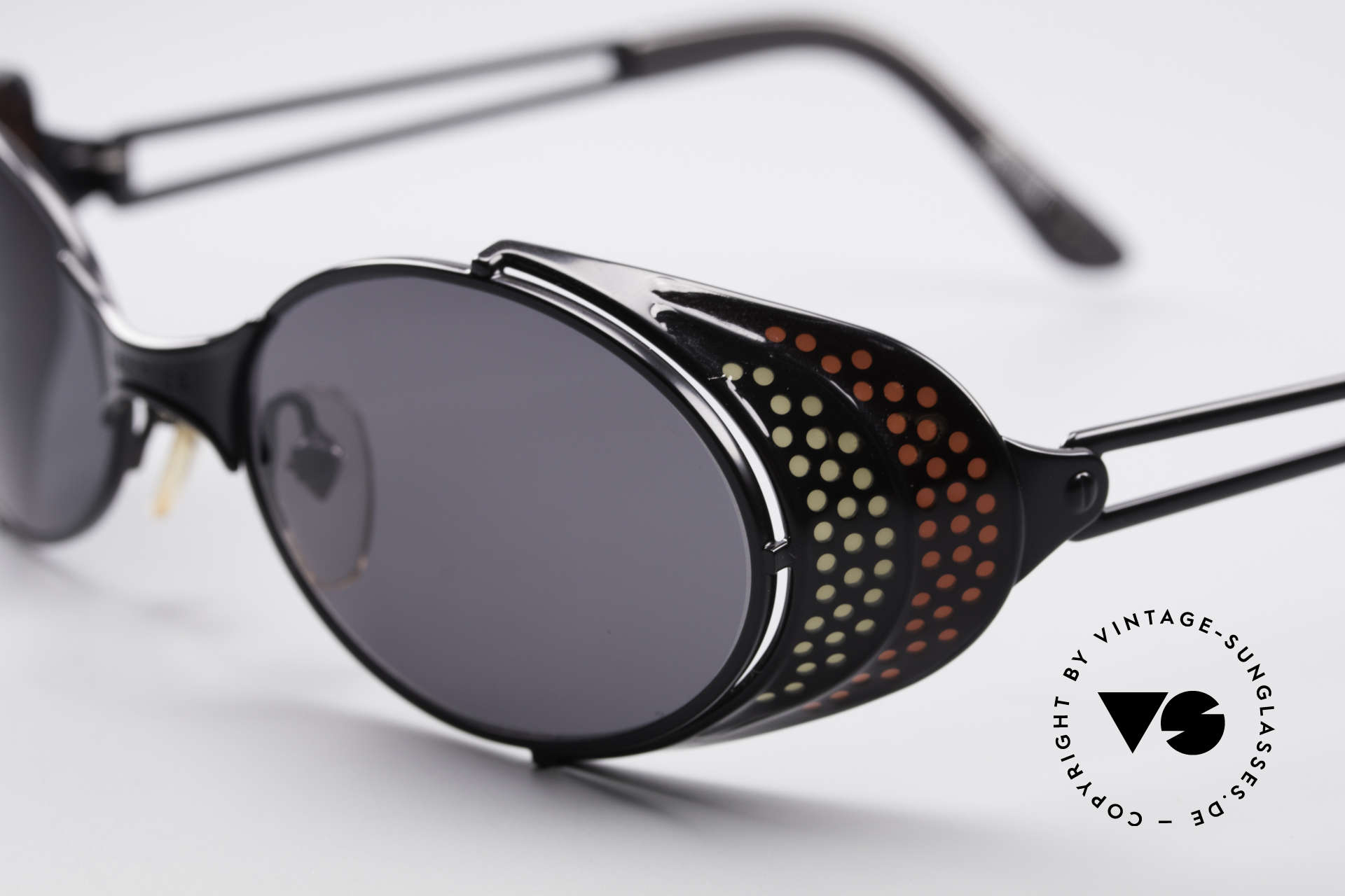 Jean Paul Gaultier 56-7109 JPG Steampunk Sunglasses, tangible high-end craftsmanship; frame made in Japan!, Made for Men and Women