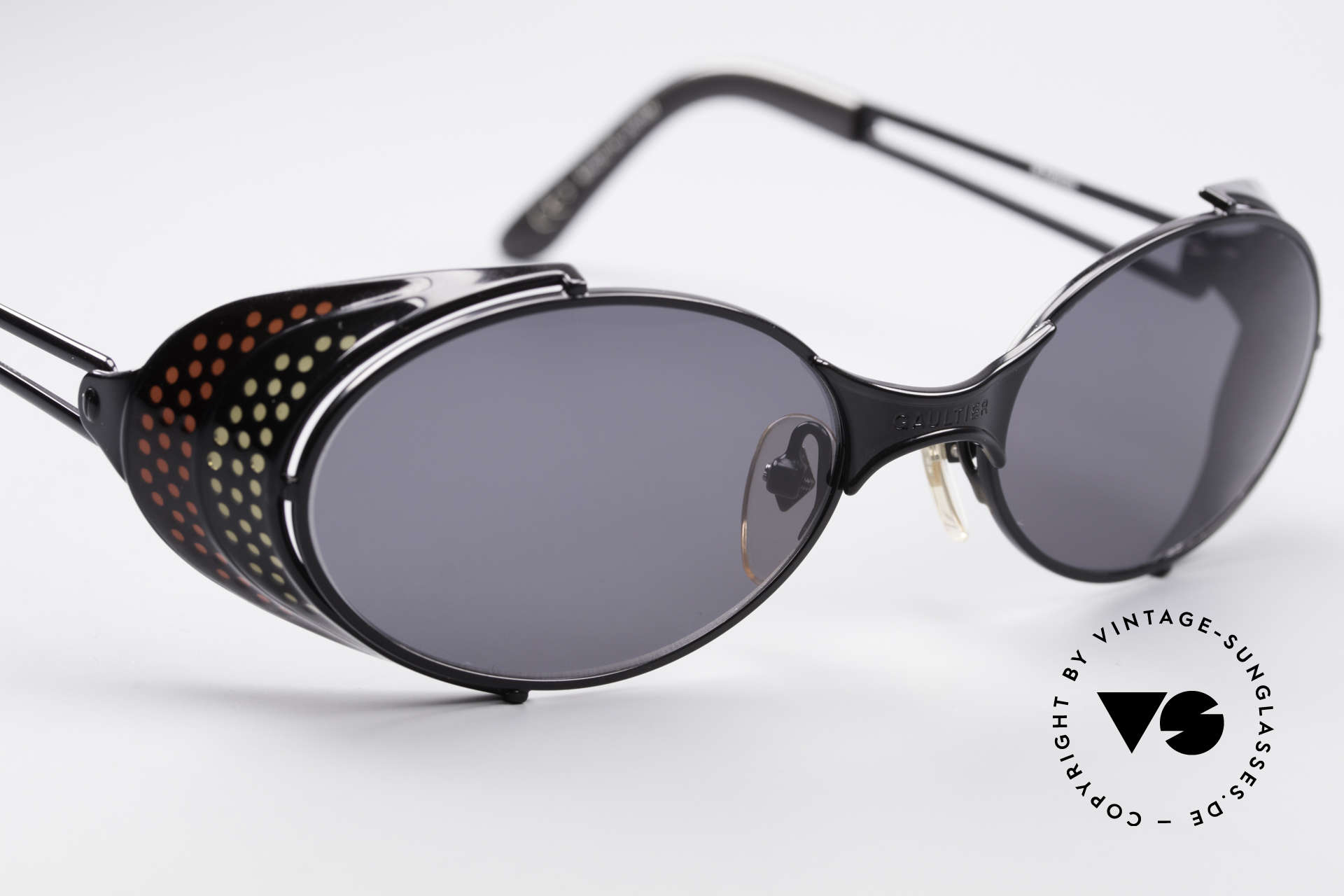 Jean Paul Gaultier 56-7109 JPG Steampunk Sunglasses, unworn rarity (a 'must have' for all art & fashion lovers), Made for Men and Women