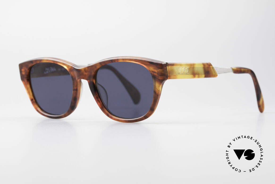 Jean Paul Gaultier 56-1071 90's Designer Sunglasses, tangible top-quality .. distinctive JPG, made in Japan, Made for Men and Women