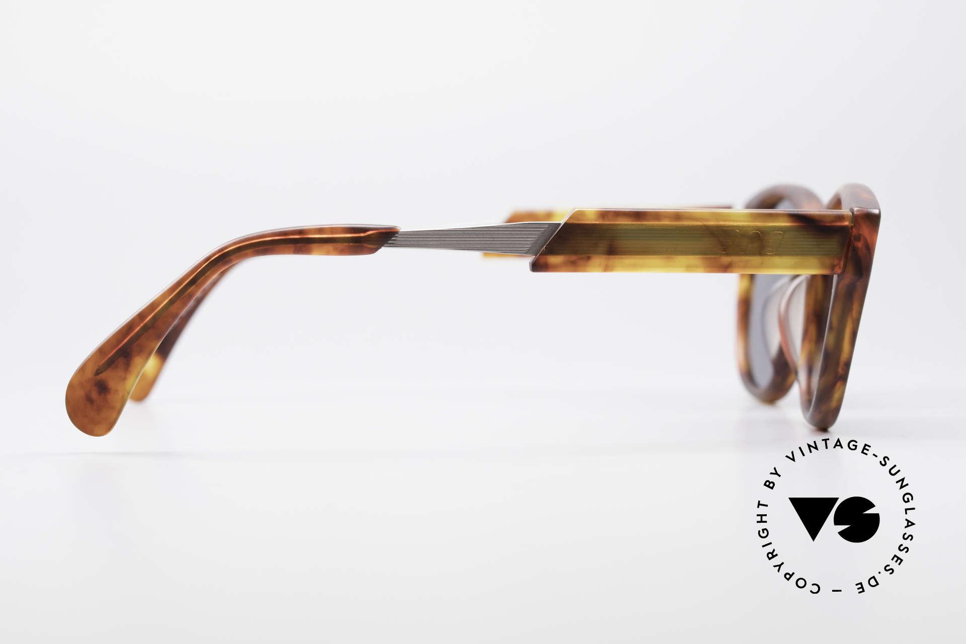 Jean Paul Gaultier 56-1071 90's Designer Sunglasses, high-end non-reflecting sun lenses (100% UV protect.), Made for Men and Women