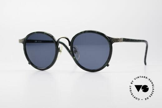 Jean Paul Gaultier 56-9273 Rare Designer Panto Shades Details