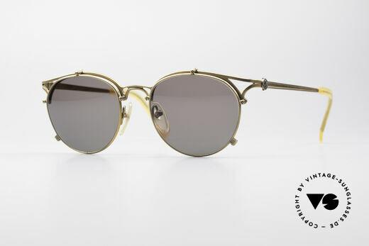 Jean Paul Gaultier 56-2171 Designer Panto Sunglasses Details