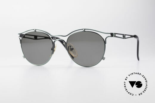 Jean Paul Gaultier 56-2174 Panto Style 90's Sunglasses Details