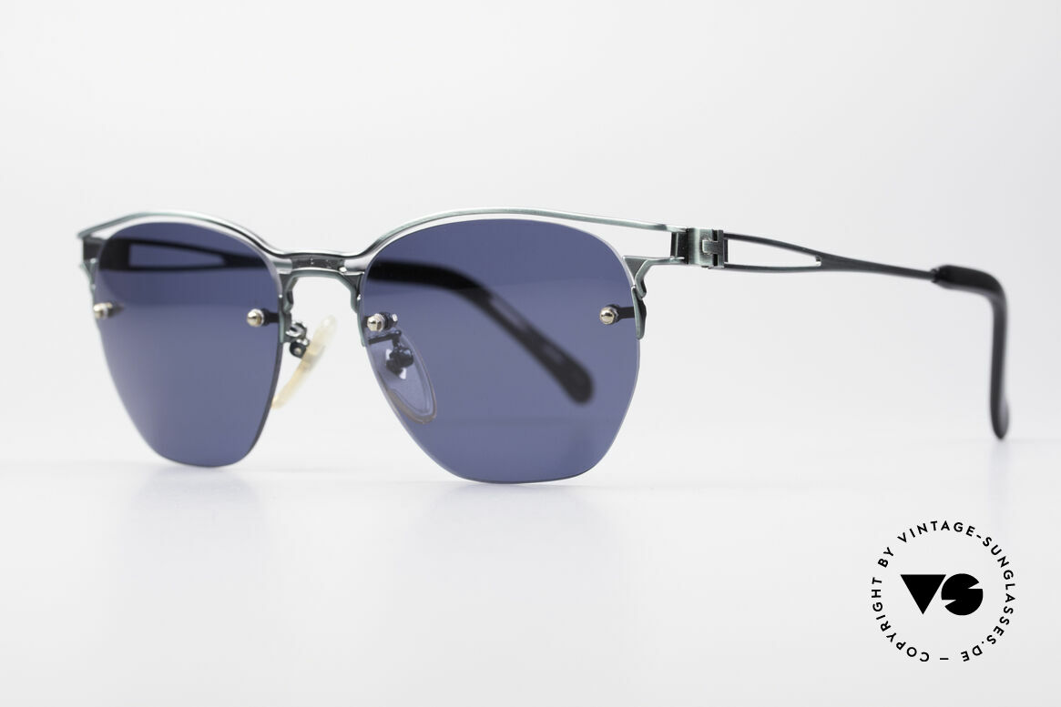 Jean Paul Gaultier 56-2173 True Vintage No Retro Shades, sun lenses (100% UV) are attached with small screws, Made for Men and Women