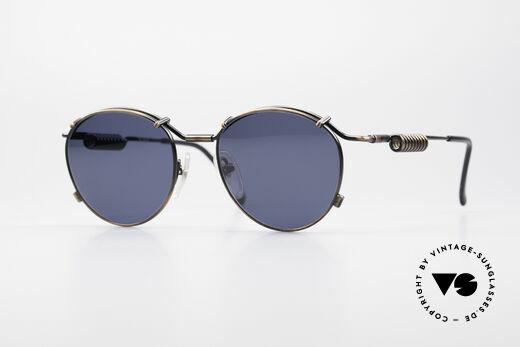 Jean Paul Gaultier 56-9174 90's Industrial Sunglasses Details