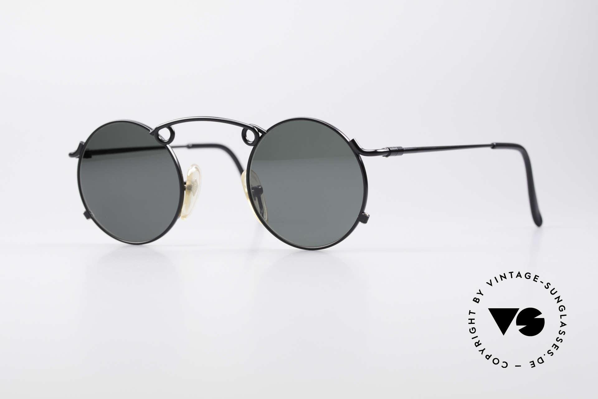 Jean Paul Gaultier 56-1178 Artful Panto Sunglasses, artful 'panto style' sunglasses by Jean Paul Gaultier, Made for Men and Women