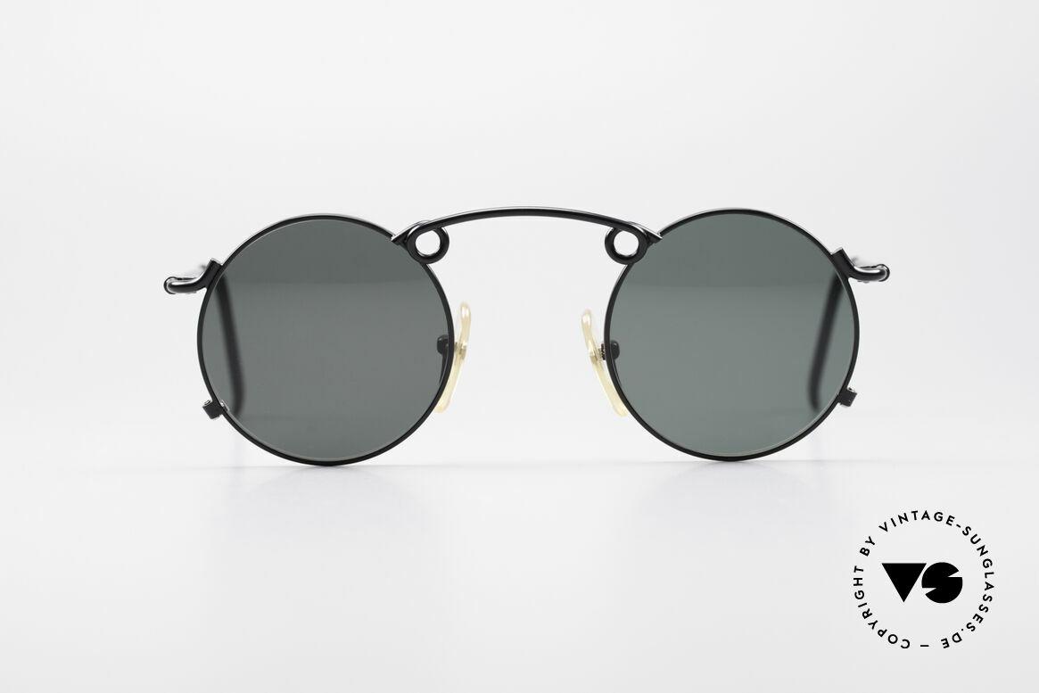 Jean Paul Gaultier 56-1178 Artful Panto Sunglasses, fine frame with striking bridge, full of verve, vertu!, Made for Men and Women