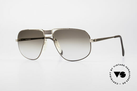 Zeiss 9387 Large 80's Men's Shades Details