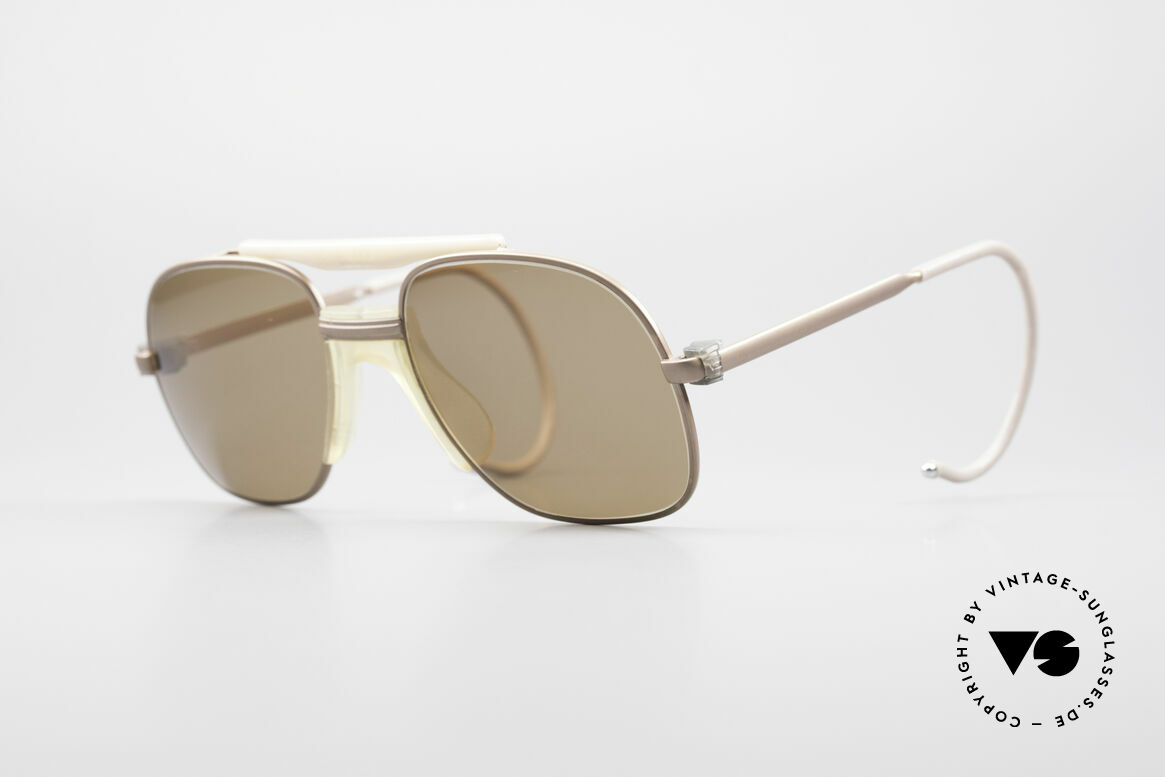 Zeiss 7037 Old School Sports Shades, 'old school' 1980's sunglasses by Zeiss, W.Germany, Made for Men
