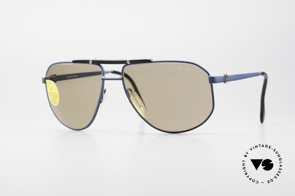 Zeiss 9292 Umbral Gold Quality Lenses, outstanding Zeiss vintage sunglassses from the 80's, Made for Men