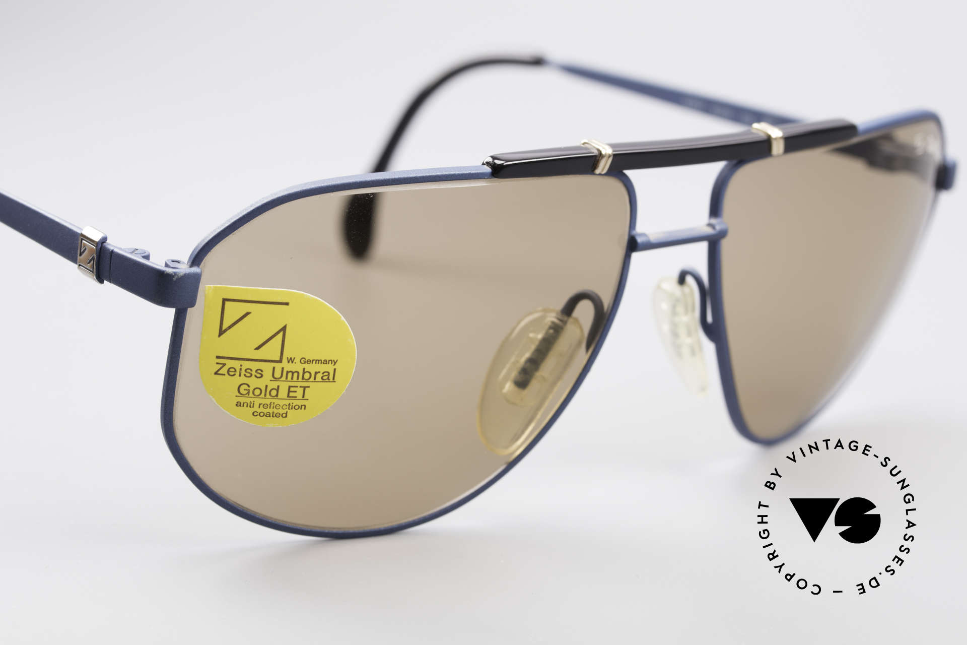 Zeiss 9292 Umbral Gold Quality Lenses, finest materials & craftsmanship (You must feel this!), Made for Men