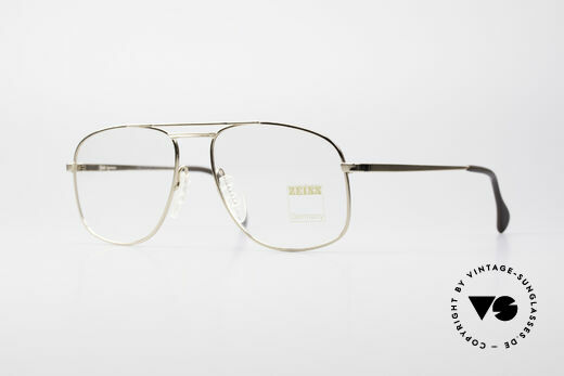 Zeiss 5958 Rare Old 90's Eyeglasses Details