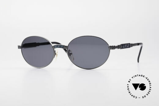 Jean Paul Gaultier 58-5104 Oval Designer Sunglasses Details