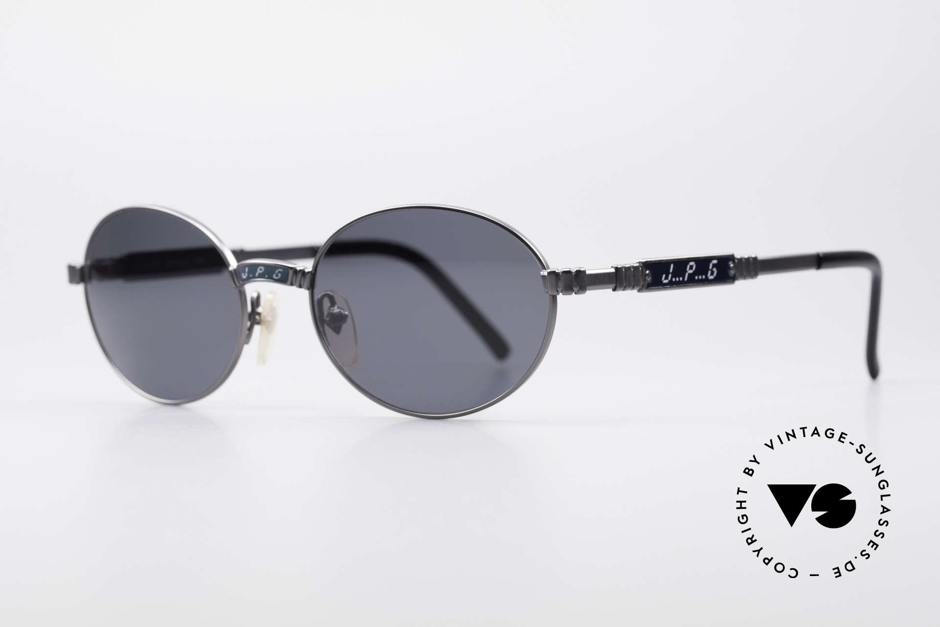 Jean Paul Gaultier 58-5104 Oval Designer Sunglasses, outstanding top-notch quality (characteristical JPG), Made for Men and Women