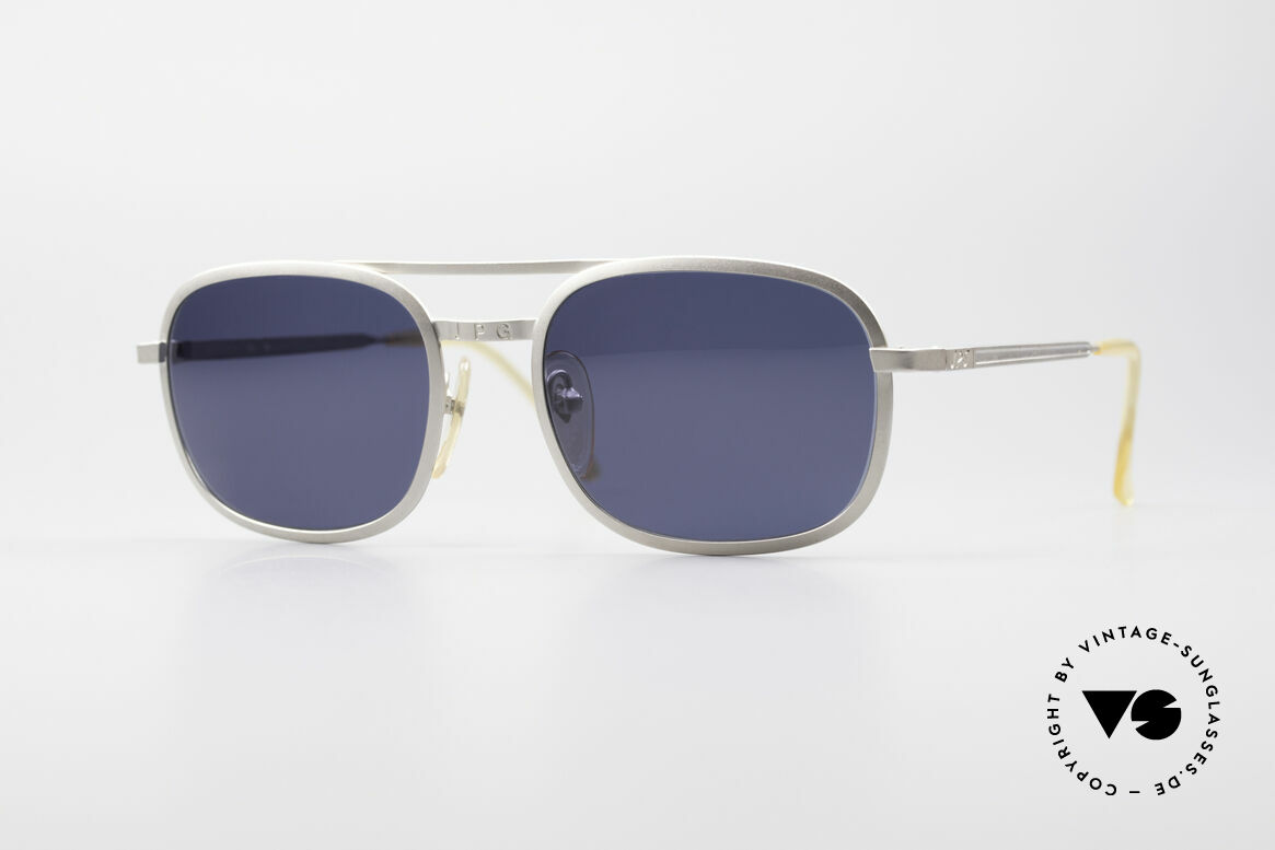 Jean Paul Gaultier 56-1172 Classic Timeless Sunglasses, timeless vintage designer sunglasses by J.P. Gaultier, Made for Men