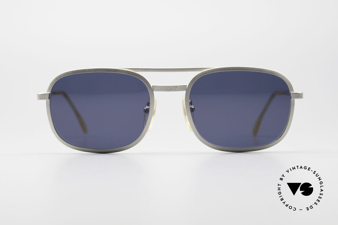 Jean Paul Gaultier 56-1172 Classic Timeless Sunglasses, classic frame design with 'JPG' on bridge and temples, Made for Men