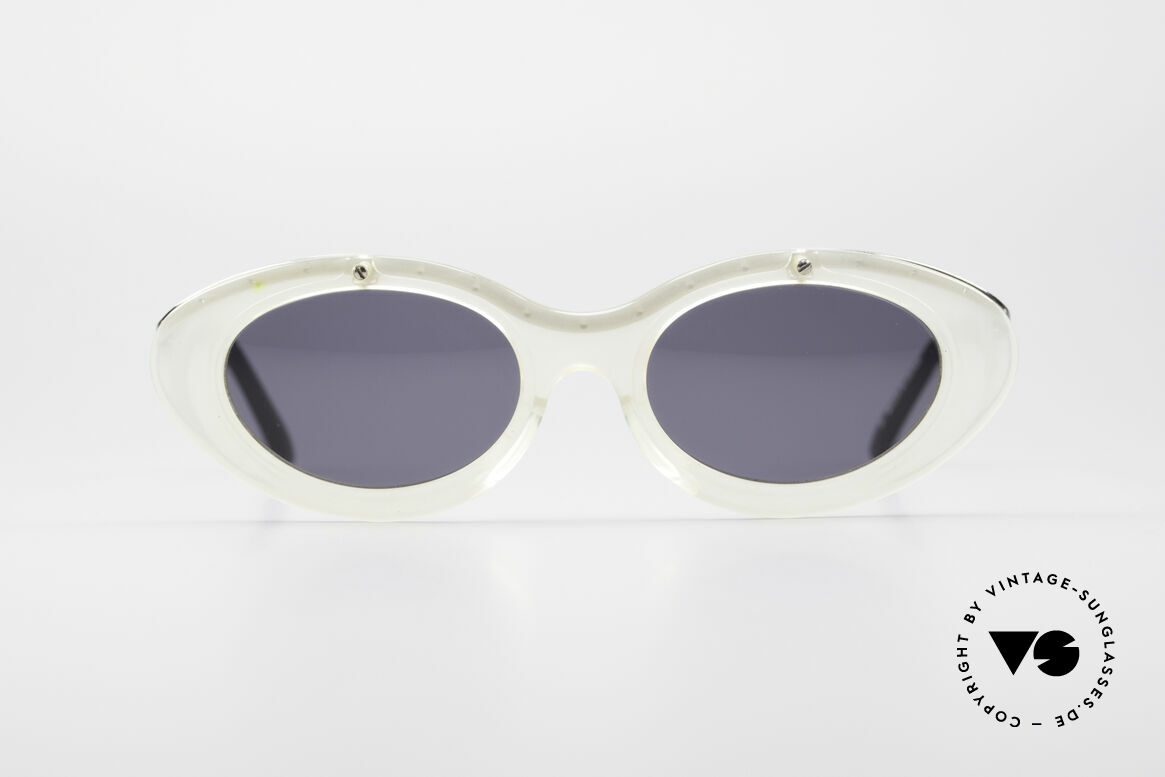 Jean Paul Gaultier 56-7201 Designer Ladies Sunglasses, glamorous designer piece from 1995, true RARITY, Made for Women