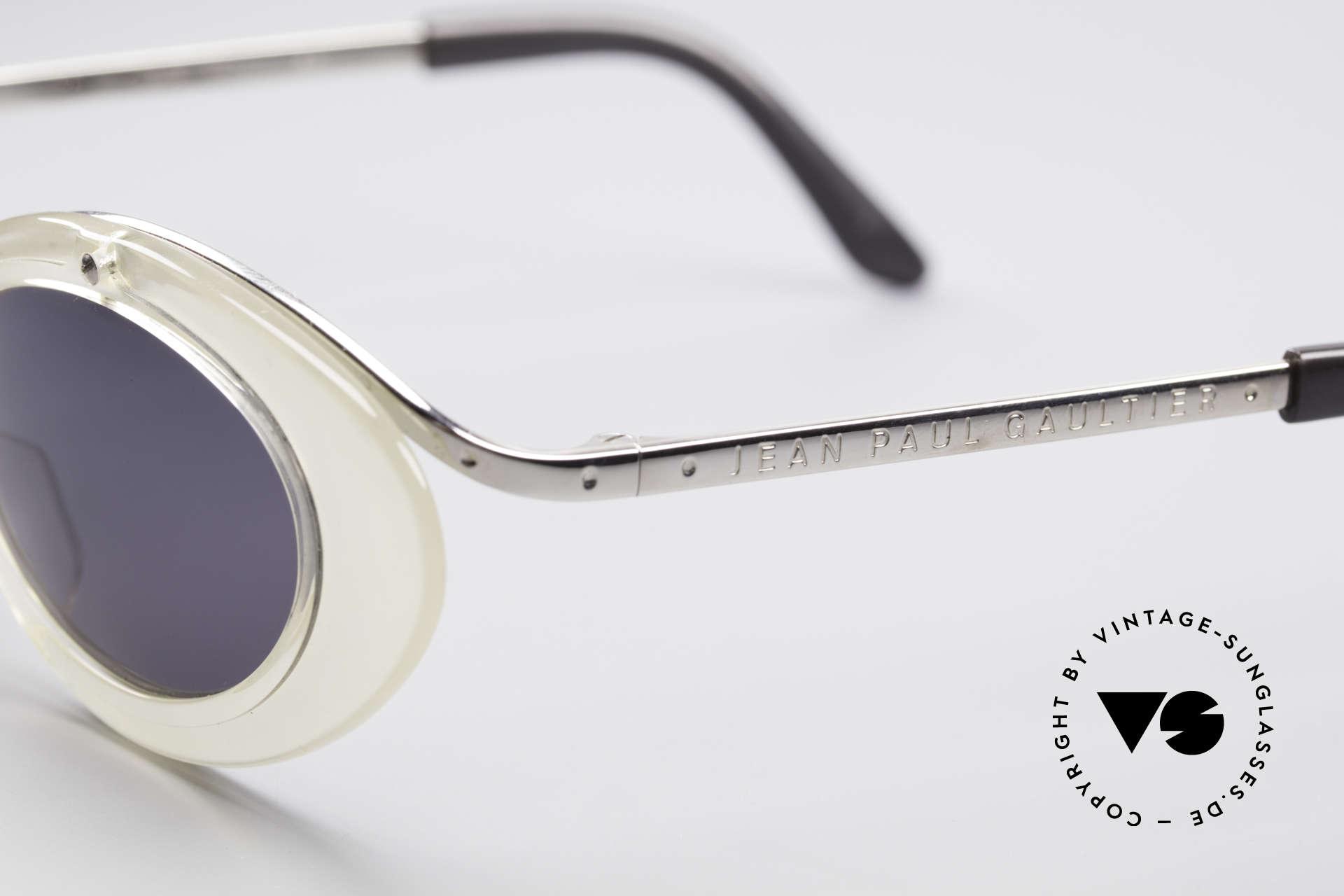 Jean Paul Gaultier 56-7201 Designer Ladies Sunglasses, NO RETRO FASHION, but a precious old ORIGINAL, Made for Women