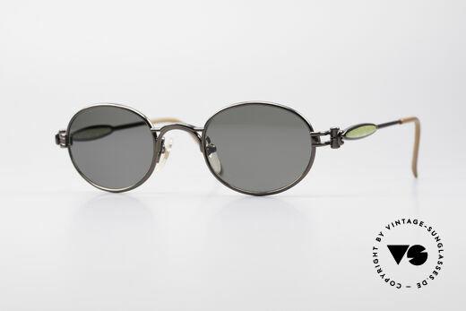 Jean Paul Gaultier 56-7113 Oval Designer Sunglasses Details