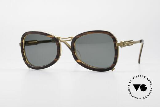 Jean Paul Gaultier 56-1271 JPG Steampunk Sunglasses Details