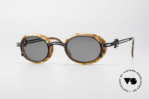 Jean Paul Gaultier 58-5201 Rare 90's Steampunk Shades Details