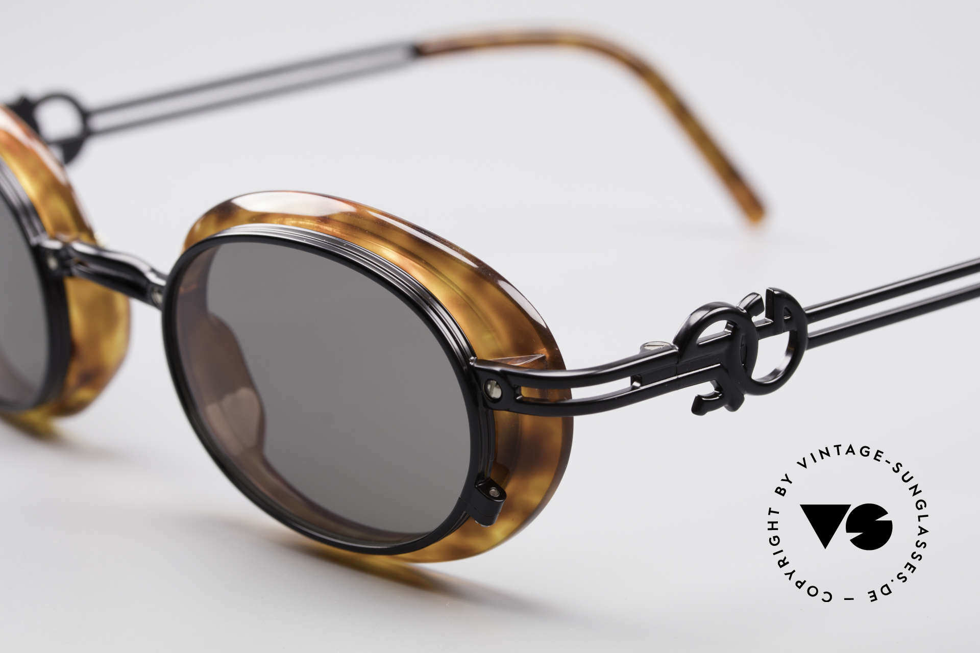 "Jean Paul Gaultier 58-5201 Rare 90's Steampunk Shades, often called as ""steampunk sunglasses"" these days, Made for Men and Women"