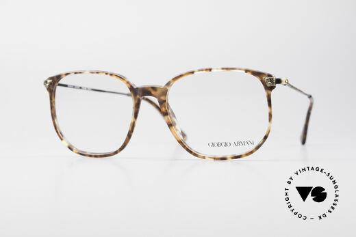 Giorgio Armani 335 True Vintage Eyeglasses Details
