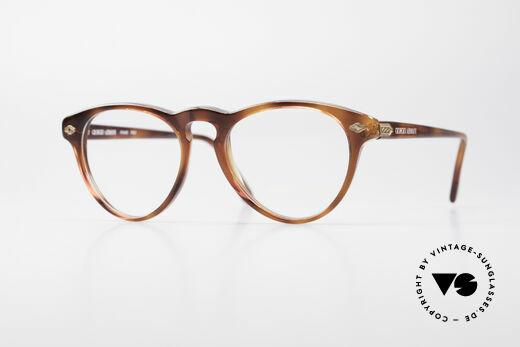 Giorgio Armani 418 Strawberry Shape Eyeglasses Details