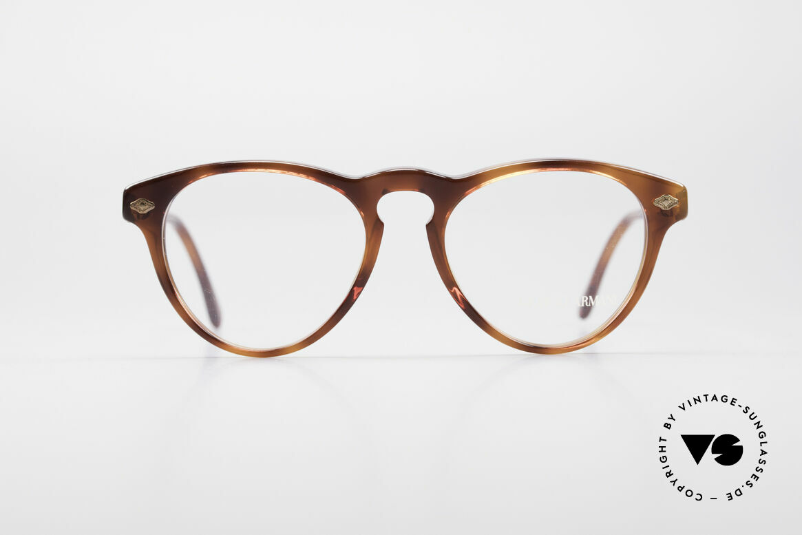 Giorgio Armani 418 Strawberry Shape Eyeglasses, classic, timeless, elegant = characteristic of GA, Made for Men and Women