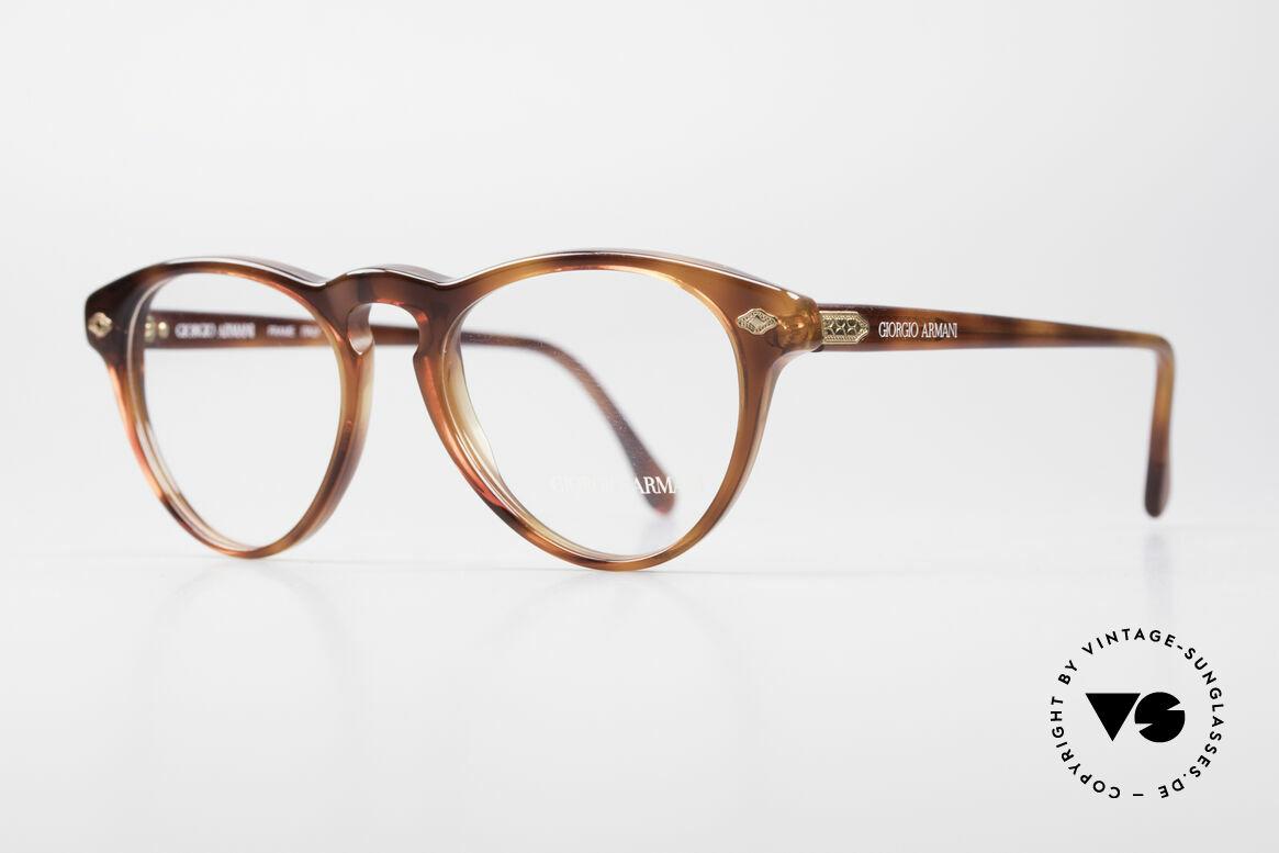 "Giorgio Armani 418 Strawberry Shape Eyeglasses, unisex model in distinctive ""strawberry design"", Made for Men and Women"