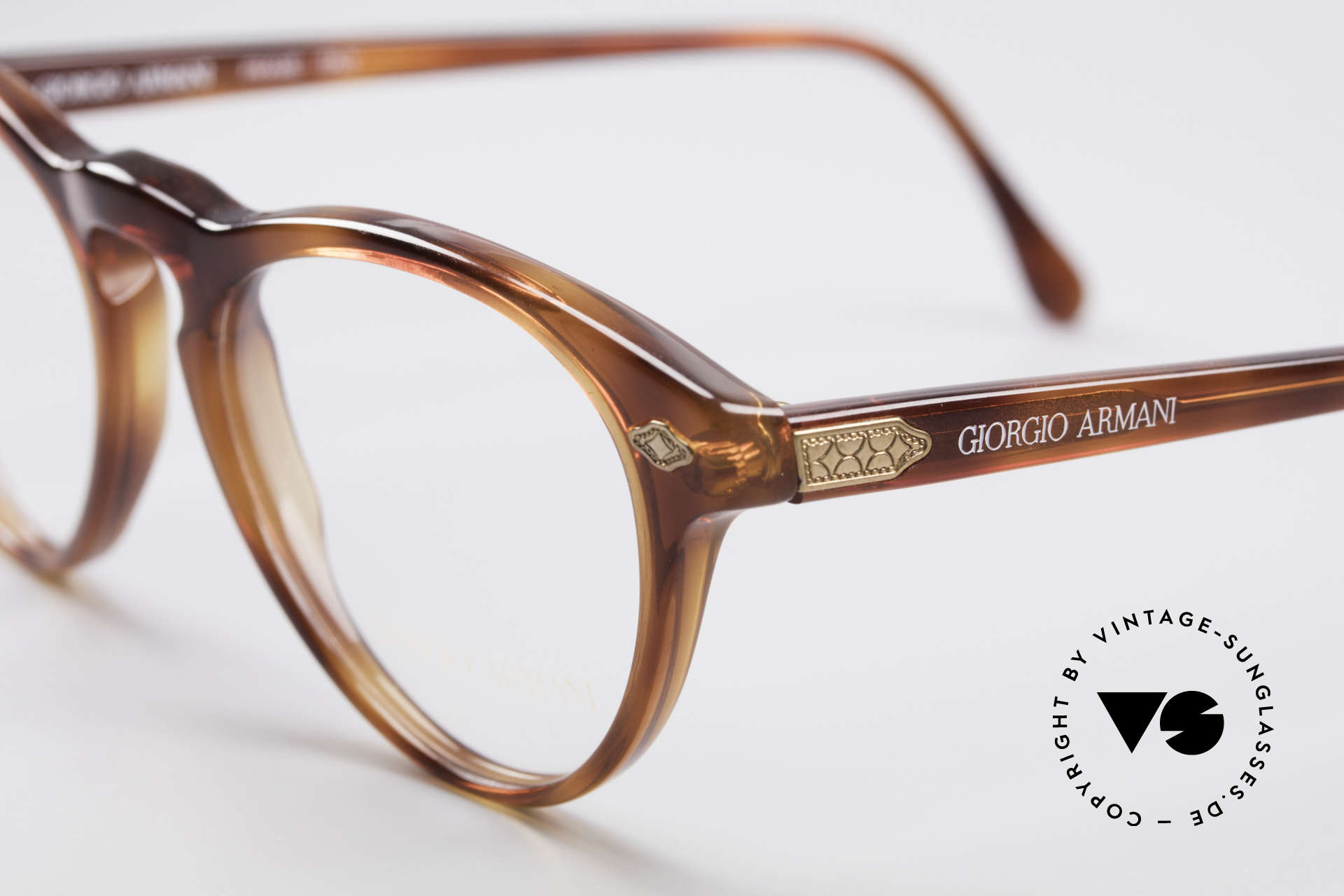 Giorgio Armani 418 Strawberry Shape Eyeglasses, frame is made for lenses of any kind (optical/sun), Made for Men and Women