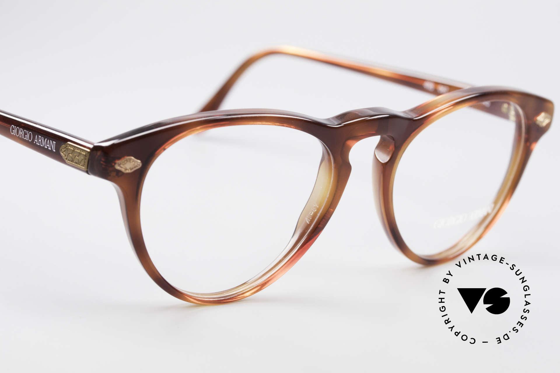 Giorgio Armani 418 Strawberry Shape Eyeglasses, unworn (like all our vintage Giorgio Armani specs), Made for Men and Women