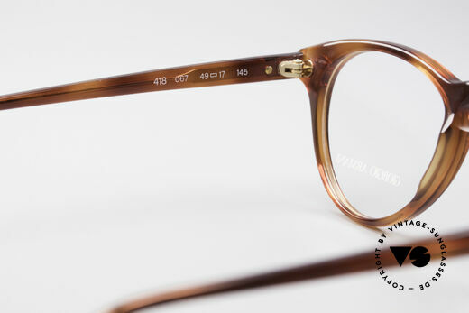 Giorgio Armani 418 Strawberry Shape Eyeglasses, NO RETRO frame, but a rare 30 years old ORIGINAL, Made for Men and Women