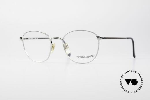 Giorgio Armani 168 Men's Vintage Eyeglasses 80's Details