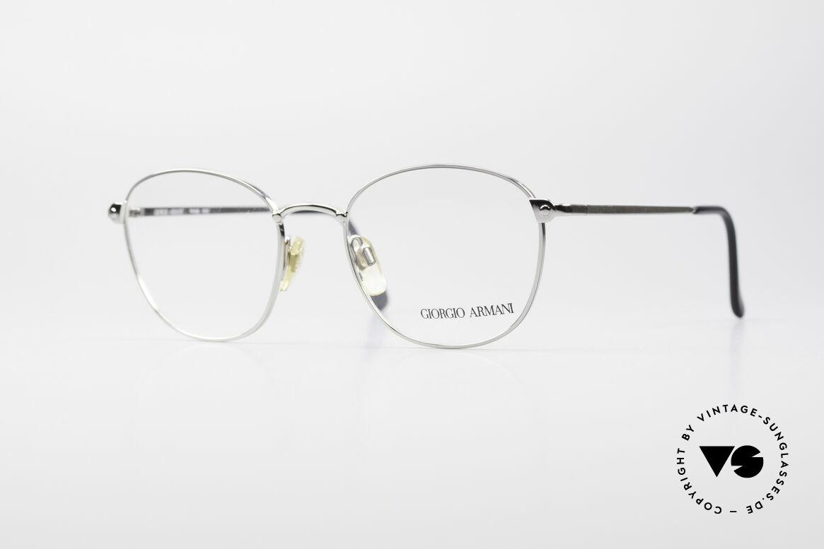 Giorgio Armani 168 Men's Vintage Eyeglasses 80's, vintage designer eyeglasses by GIORGIO ARMANI, Made for Men