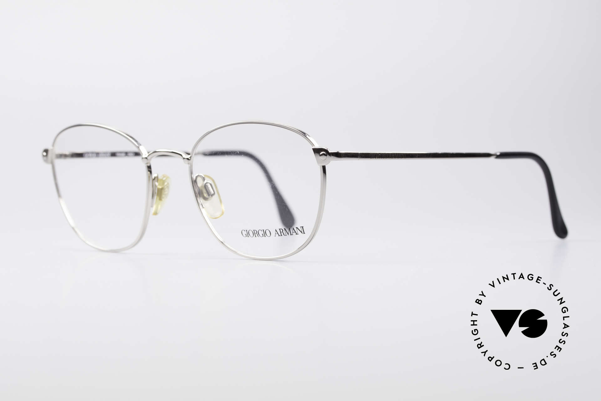 Giorgio Armani 168 Men's Vintage Eyeglasses, sober, timeless style: suitable for many occasions, Made for Men