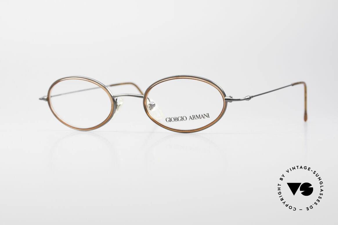 Giorgio Armani 1012 Oval Vintage Unisex Frame, vintage designer eyeglasses by GIORGIO ARMANI, Made for Men and Women