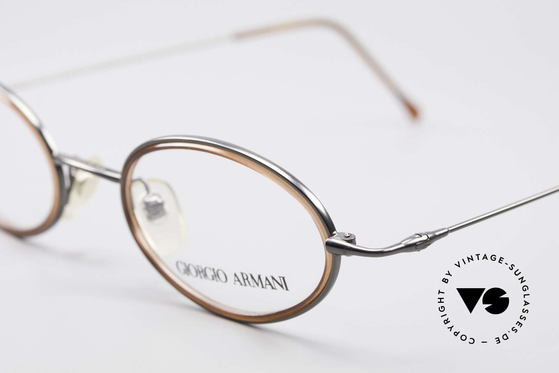 Giorgio Armani 1012 Oval Vintage Unisex Frame, never worn (like all our 1980's designer classics), Made for Men and Women