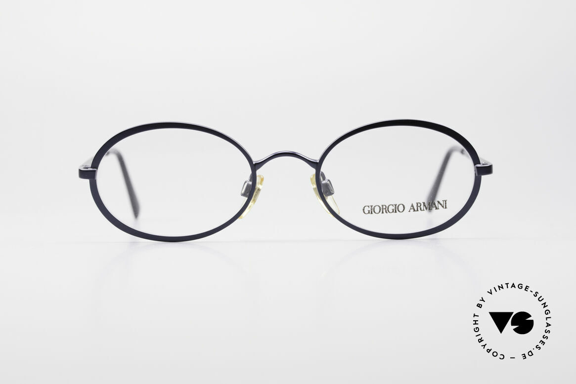 Giorgio Armani 277 90's Oval Vintage Eyeglasses, sober, timeless style: suitable for many occasions, Made for Men and Women
