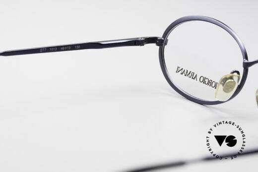 Giorgio Armani 277 90's Oval Vintage Eyeglasses, frame fits optical lenses or sun lenses optionally, Made for Men and Women