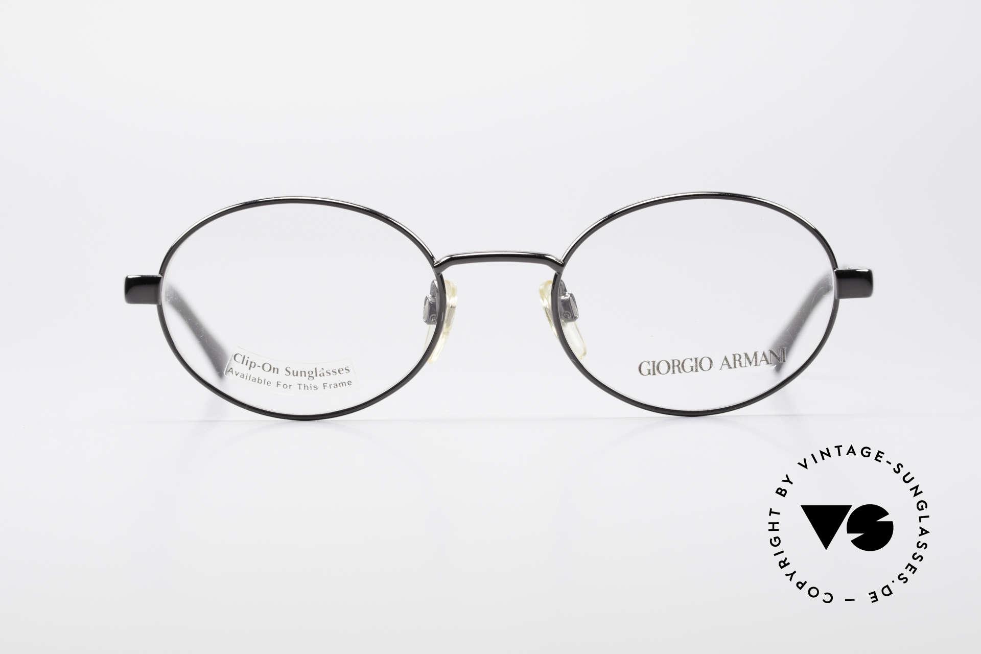 6368107107d9 Glasses Giorgio Armani 257 90s Oval Vintage Eyeglasses