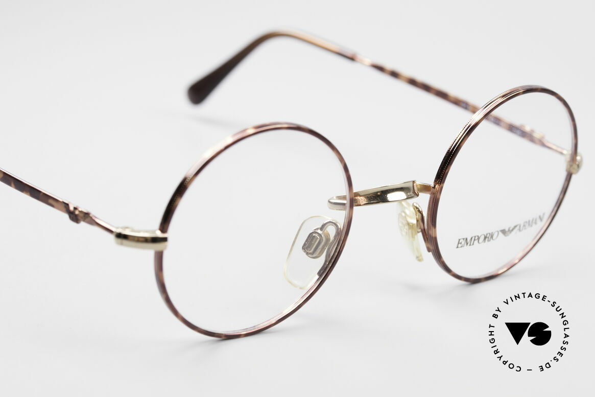 Giorgio Armani EA013 Small Round Vintage Glasses, NO RETRO EYEGLASSES, but true 90's commodity, Made for Men and Women