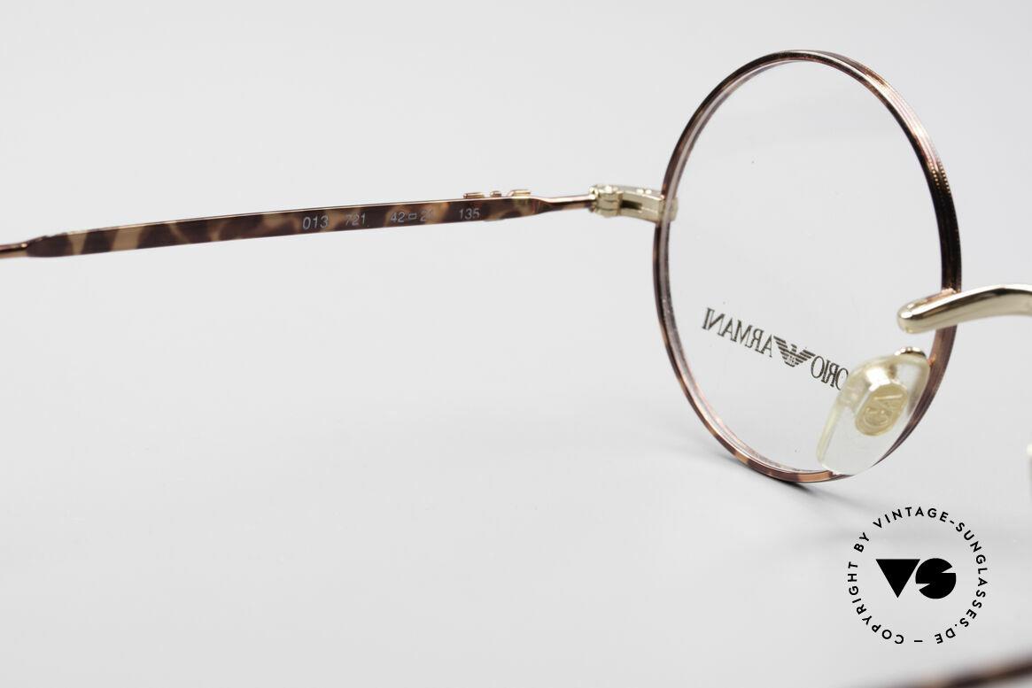 Giorgio Armani EA013 Small Round Vintage Glasses
