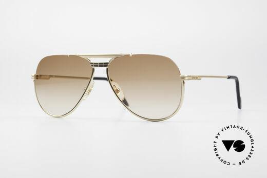 Ferrari F31 80's Luxury Sunglasses Details