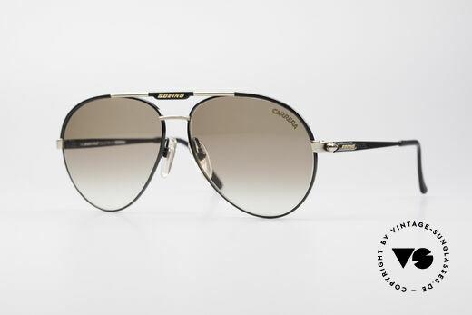 Boeing 5733 Rare 80's Pilots Sunglasses Details