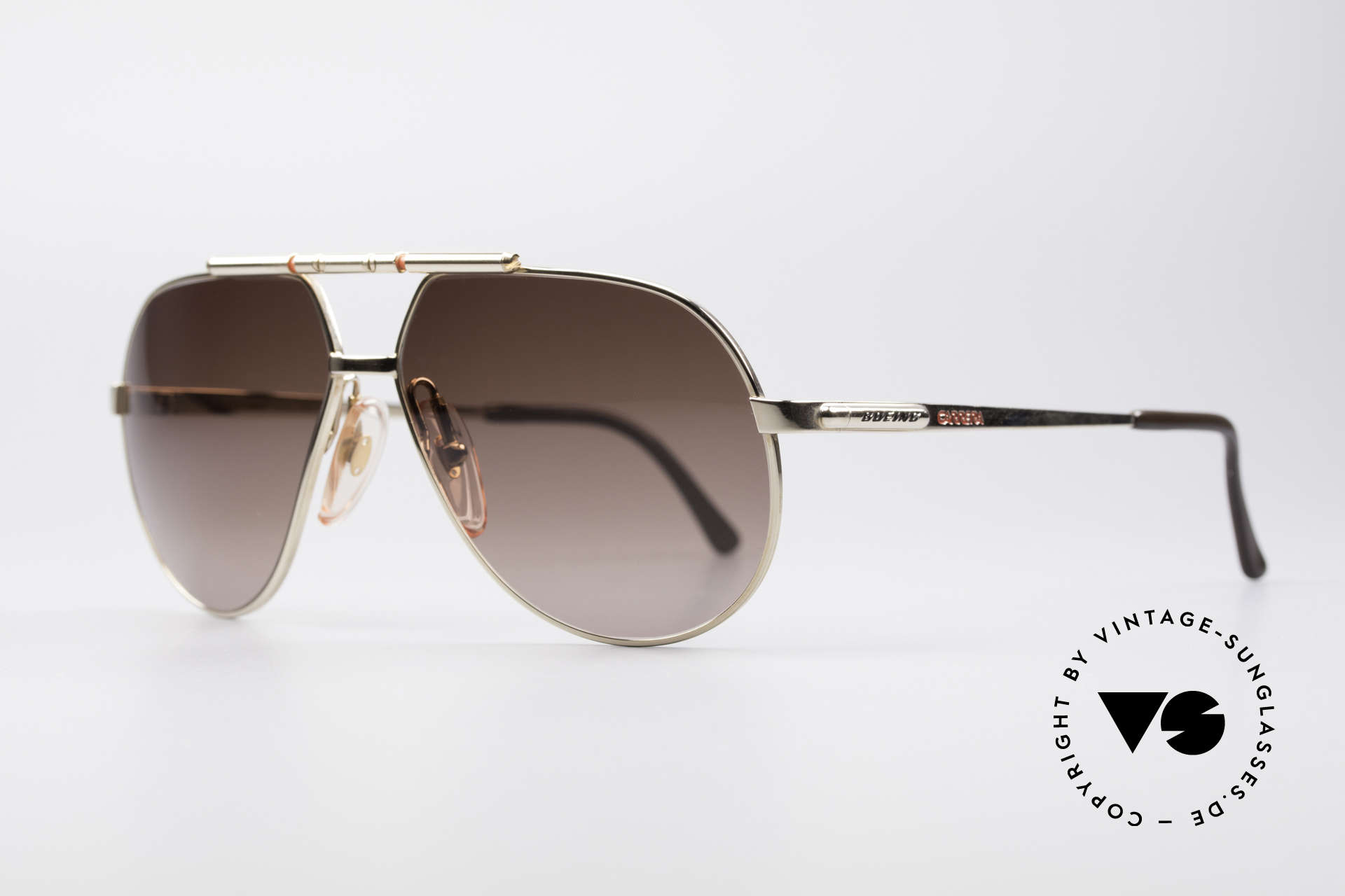Boeing 5732 High Tech 80's Pilots Shades, hybrid between functionality, quality and lifestyle, Made for Men and Women