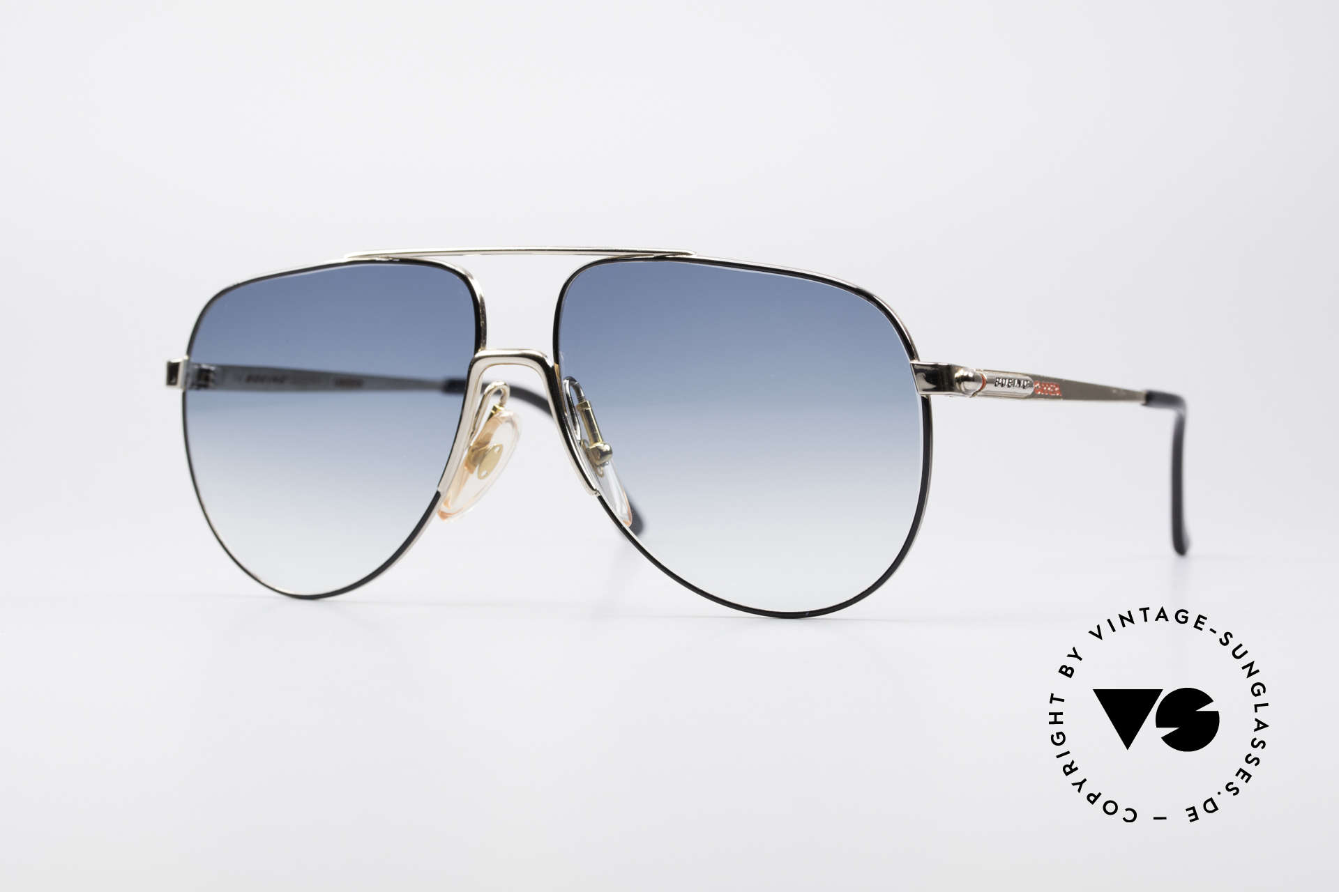 Boeing 5730 True Aviator 80s Sunglasses, real aviator sunglasses of the late 1980's by CARRERA, Made for Men