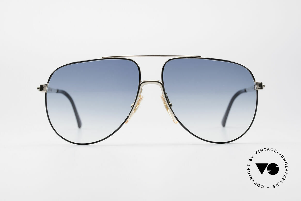 "Boeing 5730 True Aviator 80s Sunglasses, from the legendary ""The Boeing Collection"", size 58°13, Made for Men"