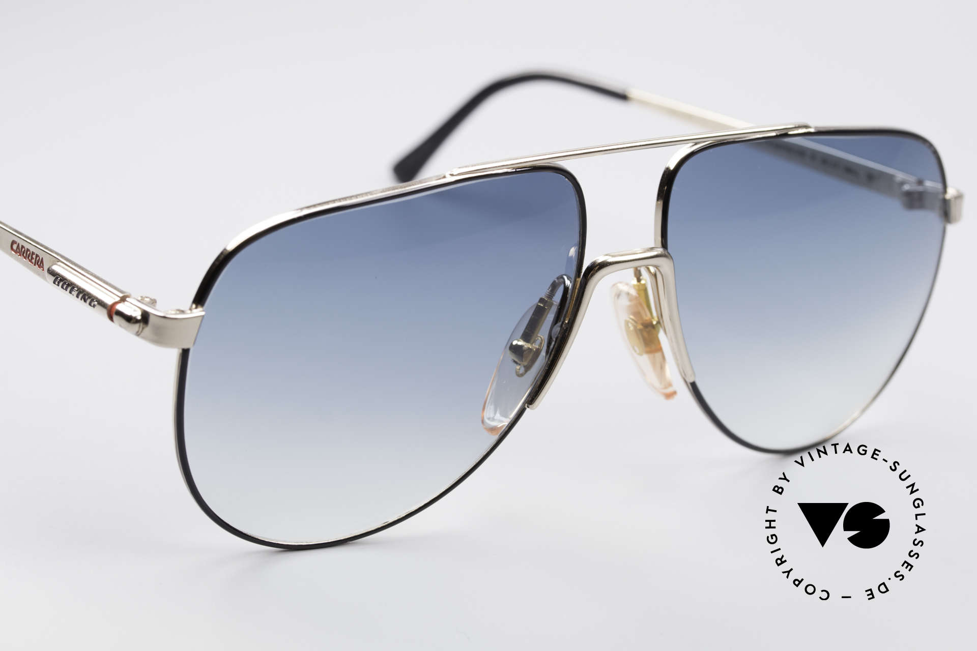 Boeing 5730 True Aviator 80s Sunglasses, limited-lot production from 1988/89 with serial number, Made for Men